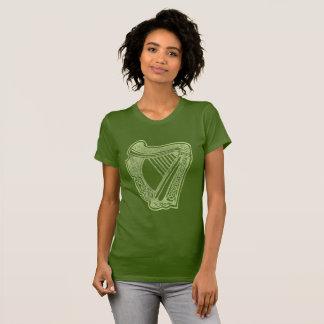 Irish Harp Éireann Cláirseach Symbol of a Nation T-Shirt