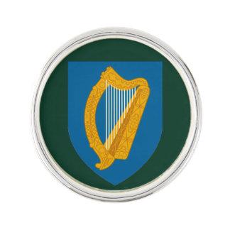 Irish Harp Lapel Pin