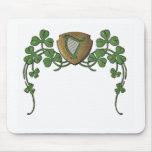 Irish Harp Mousepad