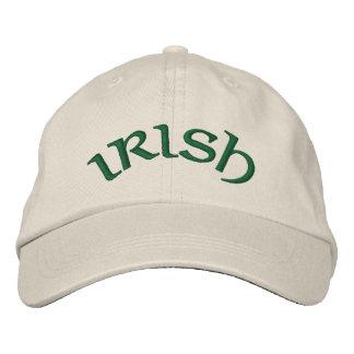 IRISH - hat Embroidered Hat