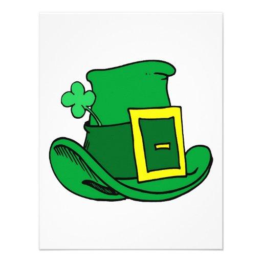 Irish Hat Personalized Announcement