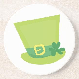 Irish Hat Sandstone Coaster