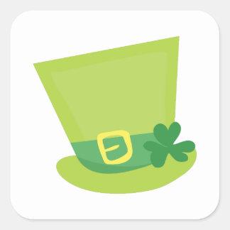 Irish Hat Square Sticker