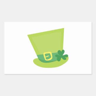 Irish Hat Rectangular Sticker