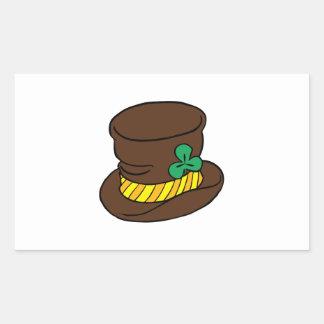Irish Hat Rectangle Sticker