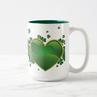 Irish Heart Coffee Mugs