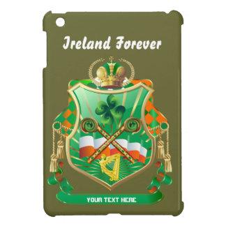 Irish History Shield View Story Below iPad Mini Cover