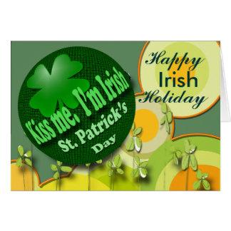 Irish Holiday Card