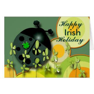 Irish Holiday Greeting Card