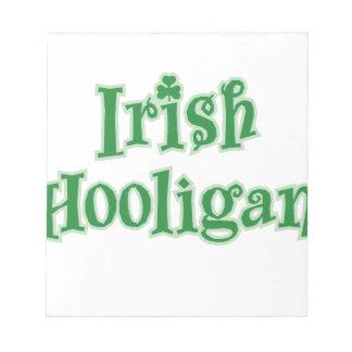 Irish_Hooligan Notepad