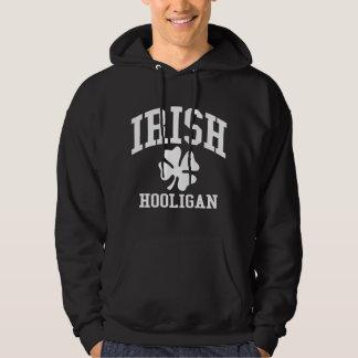 IRISH Hooligan with Shamrock Hoodie