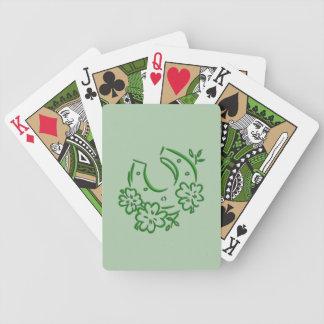 Irish Horseshoe Bicycle Playing Cards
