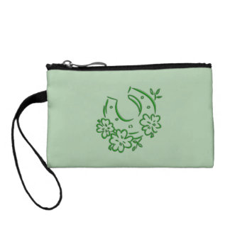 Irish Horseshoe Coin Purse