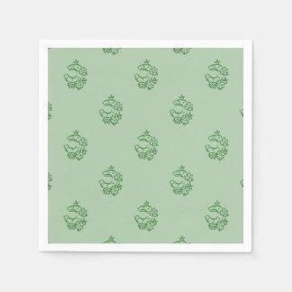 Irish Horseshoe Theme Paper Napkin