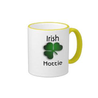 Irish Hottie Ringer Mug