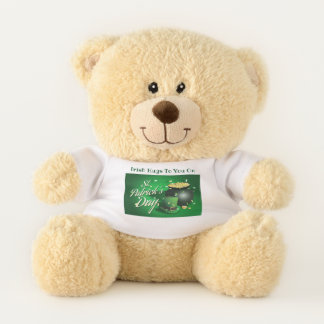 Irish Hugs Teddy Bear