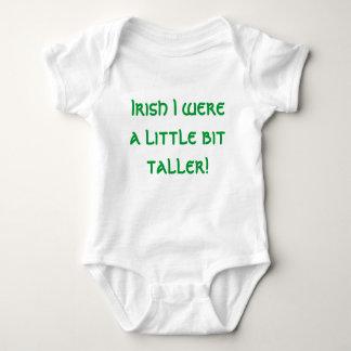 Irish I were a little bit taller! Baby Bodysuit
