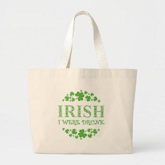 IRISH I WERE DRUNK BAGS