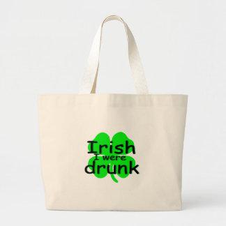 Irish I Were Drunk (Clover) Bags