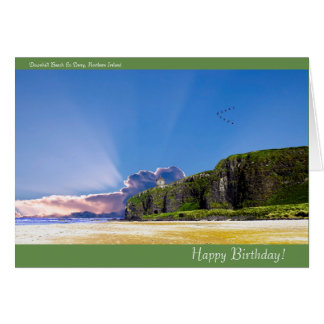 Irish image for Birthday greeting card
