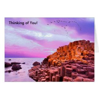 Irish image for Greeting card