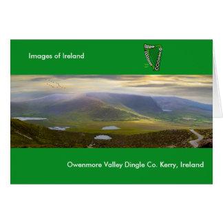 Irish image for Greeting-card Card
