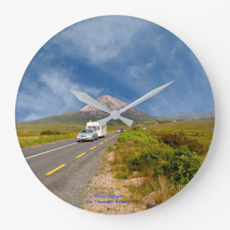 Irish image for Round (Large) Wall Clock