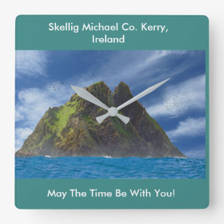 Irish image for  Square Wall Clock