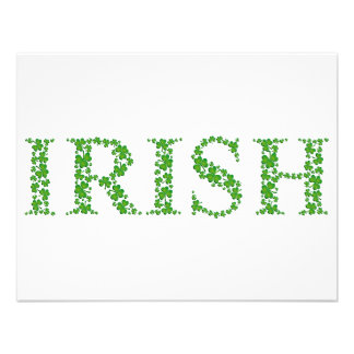 IRISH CUSTOM INVITES