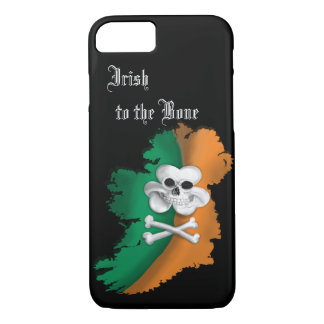 IRISH IPHONE 7.  ST PATRICKS DAY IRISH TO THE BONE iPhone 8/7 CASE