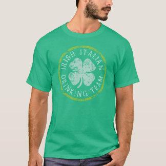 Irish Italian Drinking Team T-Shirt