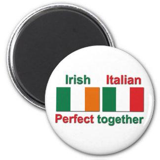 Irish Italian - Perfect Together Fridge Magnets