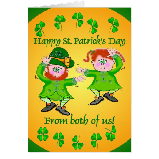 Irish Jig Greeting Cards