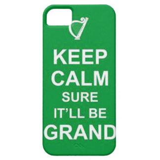 Irish keep calm case