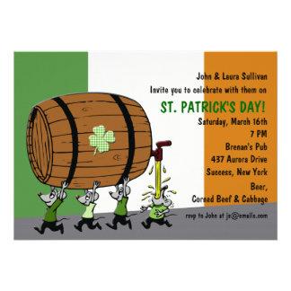 Irish Keg Party Invitation