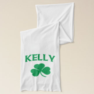 Irish Kelly Shamrock Scarf