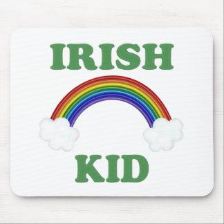 Irish Kid Rainbow Mouse Pad