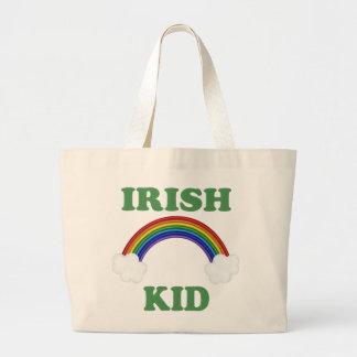 Irish Kid Rainbow Tote Bag