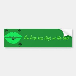 Irish Kiss Bumper Sticker