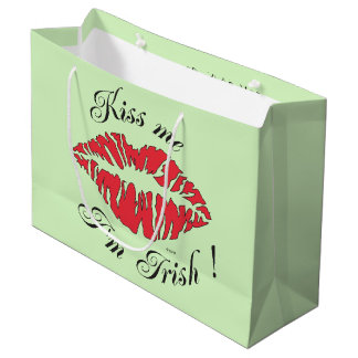 IRISH KISS GIFT BAG LARGE Matte