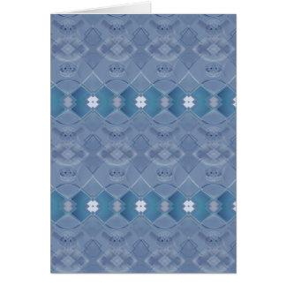 Irish Lace - Wedgewood Blue Card
