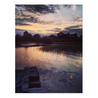 Irish lake postcard