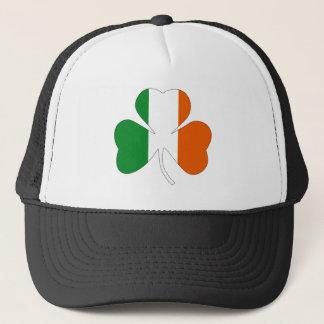 irish leaf symbol flag clover symbol ireland trucker hat