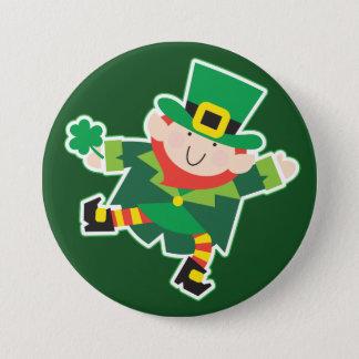 Irish Leprechaun Jig 7.5 Cm Round Badge