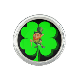 IRISH LEPRECHAUN ring