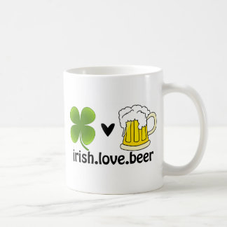 Irish Love Beer Coffee Mug