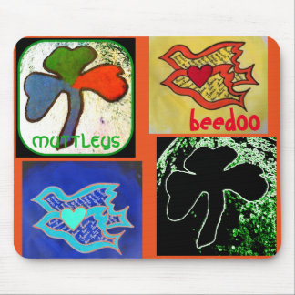 Irish / Love Birds Mousepad