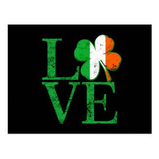 Irish Love for St Patricks Postcard