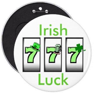 Irish Luck 777 Button