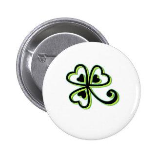 Irish Luck Buttons